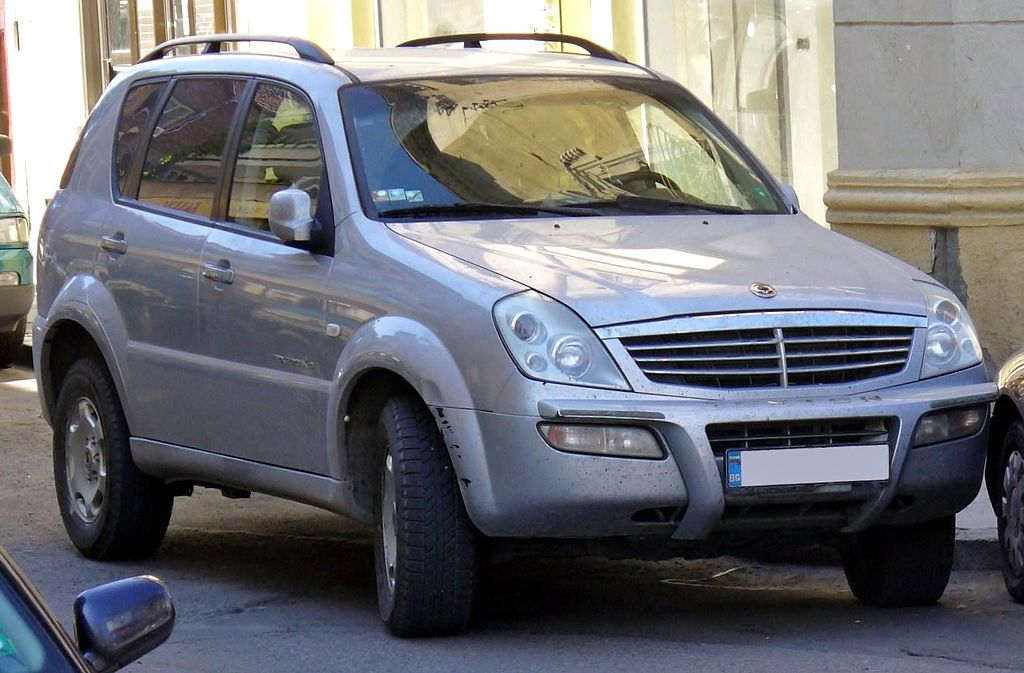 ssangyong rexton rx 320 benzyna l6 3 2l suv off road 5. Black Bedroom Furniture Sets. Home Design Ideas