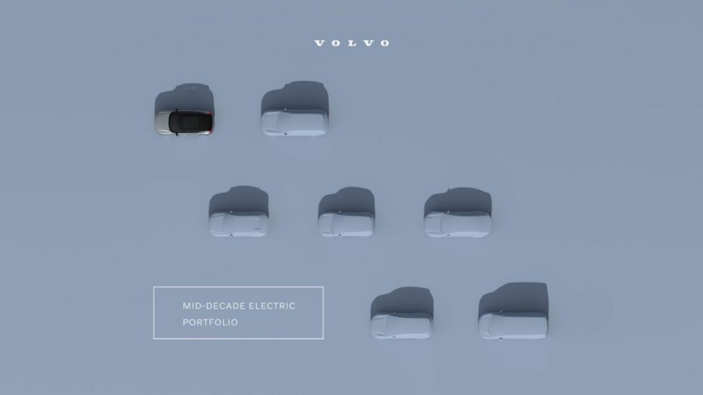 Volvo Cars to be fully electric by 2030 - Mid-decade electric