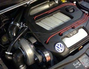 silnik widlasty V5