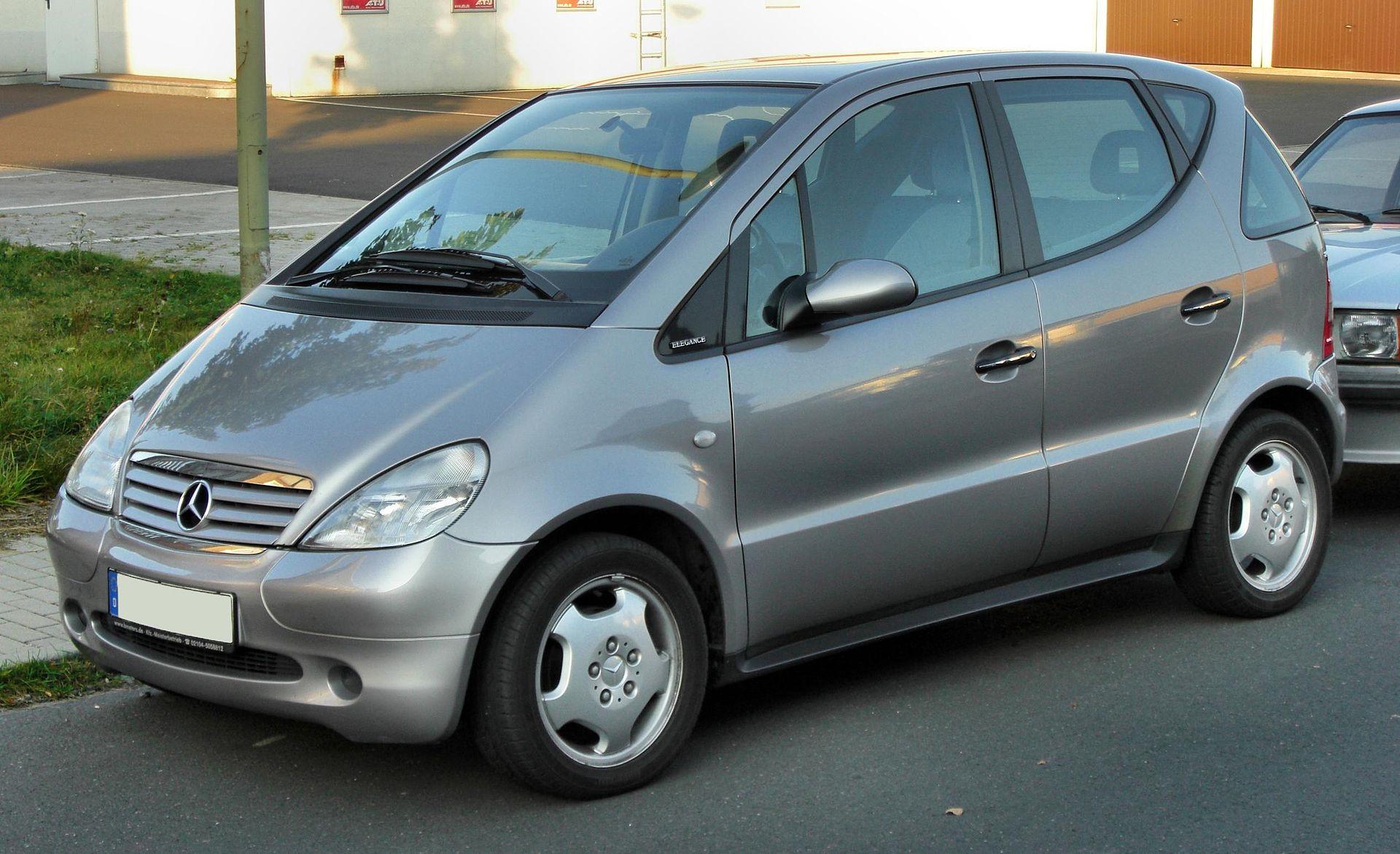 Samochód do 5 tysięcy złotych - Mercedes-Benz Klasy A W168