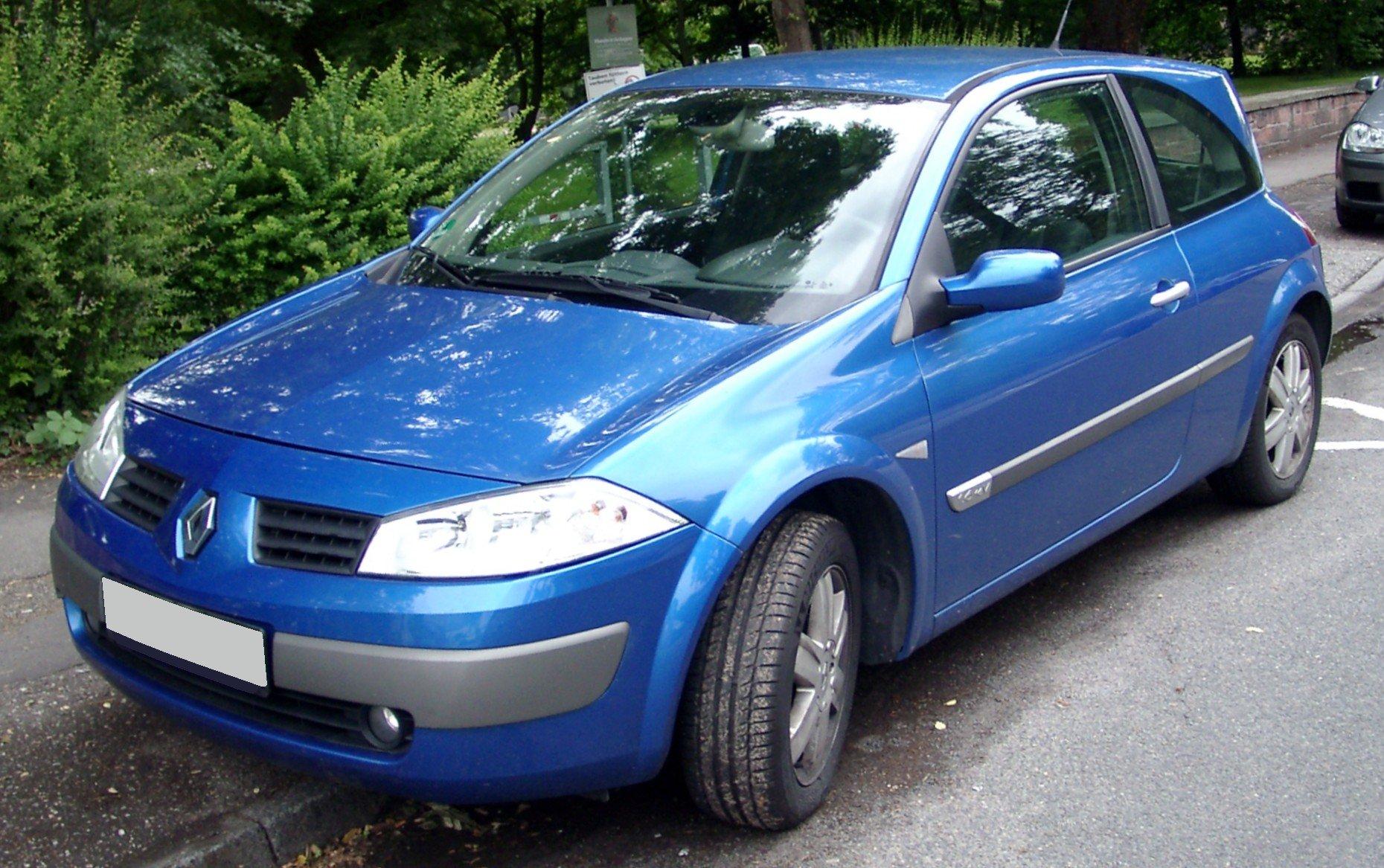 Samochód do 5 tysięcy złotych - Renault Megane II